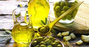 Chống lão hóa bằng dầu olive